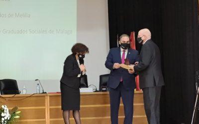 Reconocimiento Medalla de oro al Ilustre Colegio de Abogados de Melilla