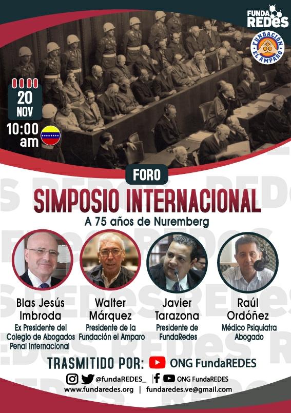 simposio internacional a 75 años de nuremberg