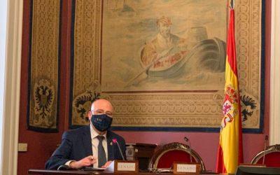 Blas Jesús Imbroda pide al Senado que se habiliten infraestructuras adecuadas para asistir a los migrantes