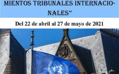 Taller práctico sobre Procedimientos Tribunales del 22 de abril al 27 de mayo de 2021